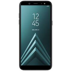 Sim Free Samsung Galaxy A6 Mobile Phone - Black