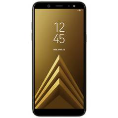 Sim Free Samsung Galaxy A6 Mobile Phone - Gold