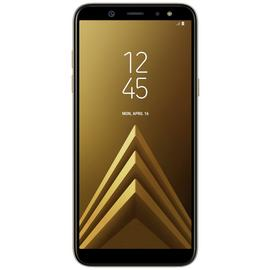SIM Free Samsung Galaxy A6 32GB Mobile Phone - Gold