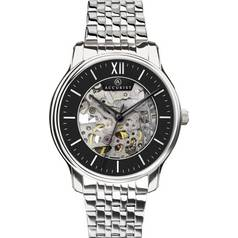 Accurist Men's Skeleton Stainless Steel Bracelet Watch