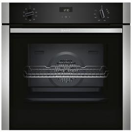 Neff B1ACE4HN0B 59.4cm Single Oven Electric Cooker - S/Steel Best Price, Cheapest Prices