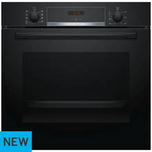 Bosch HBS534BB0B Single Electric Cooker - Black