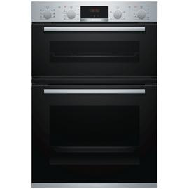 Bosch MBS533BS0B Built In Double Electric Oven - S/Steel Best Price, Cheapest Prices