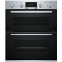 Bosch NBS533BS0B Double Electric Cooker - Stainless Steel