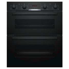 Bosch NBS533BB0B 59.4cm Built In Double Electric Oven -Black