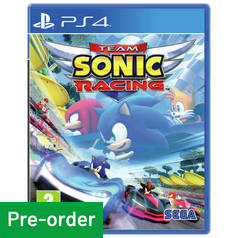 Sega Sonic Racing PS4 Pre-Order Game