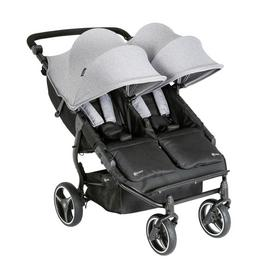 Mychild Easy Twin Double Stroller - Grey