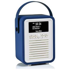 VQ Retro Mini DAB / FM Radio / Bluetooth Speaker - Navy