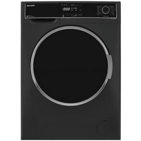 Sharp ES-HFH814QA3 8KG 1400 Spin Washing Machine -Anthracite