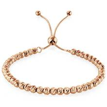 Buckley Rose Gold Colour Soho Diamond Cut Bracelet