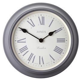 Jones Supper Club Wall Clock - Grey