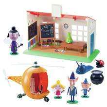 Ben & Holly Wise Old Elf Playset