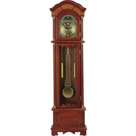 Argos Home Floor Standing Pendulum Grandfather Clock -Walnut