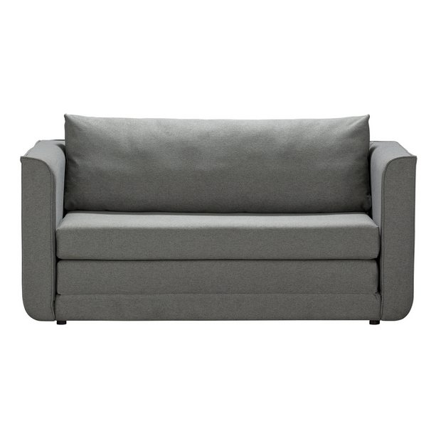 size 40 13c69 23f1e Buy Argos Home Ada 2 Seater Fabric Sofa Bed - Grey | Sofa beds | Argos