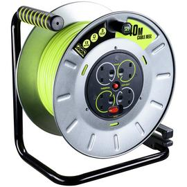 Masterplug PRO-XT4 4 Socket Cable Reel - 40m