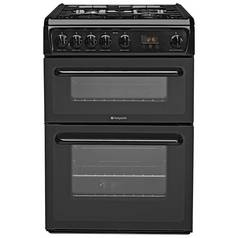 Hotpoint HAG60K Gas Cooker - Black