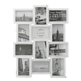 Argos Home 12 Aperture Photo Frame - White