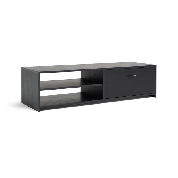 huge discount 79e6f e0c47 Buy Argos Home 1 Drawer TV Unit - Black | TV stands | Argos