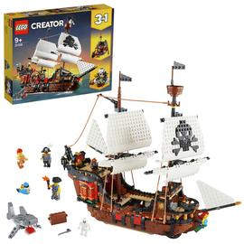 LEGO Creator 3-in-1 Pirate Ship Set - 31109/t
