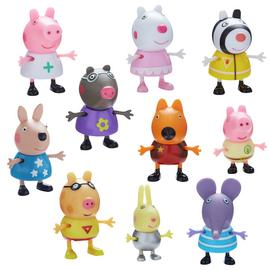 Peppa Pig Dress Up 10 Figure Pack