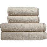 more details on Simple Value 4 Piece Towel Bale - Cream.