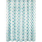 more details on HOME Polka Dot Shower Curtain - Blue.