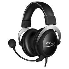 HyperX Cloud Silver Xbox One, PS4, PC Headset