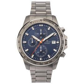 Accurist Men's Grey Titanium Chronograph Bracelet Watch