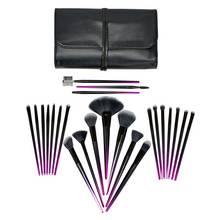 Rio Stiletto 24 Piece Cosmetic Make-up Brush Set - Ombre