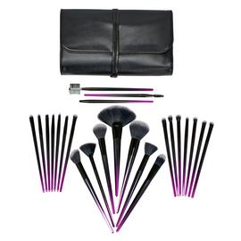 Rio Stiletto 24 Piece Cosmetic Make-up Brush Set - Ombre
