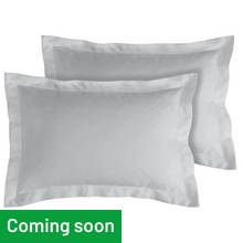 Argos Home Pair of 400 TC Oxford Pillowcases