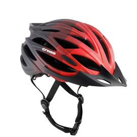 Cross Kids Bike Helmet - Red