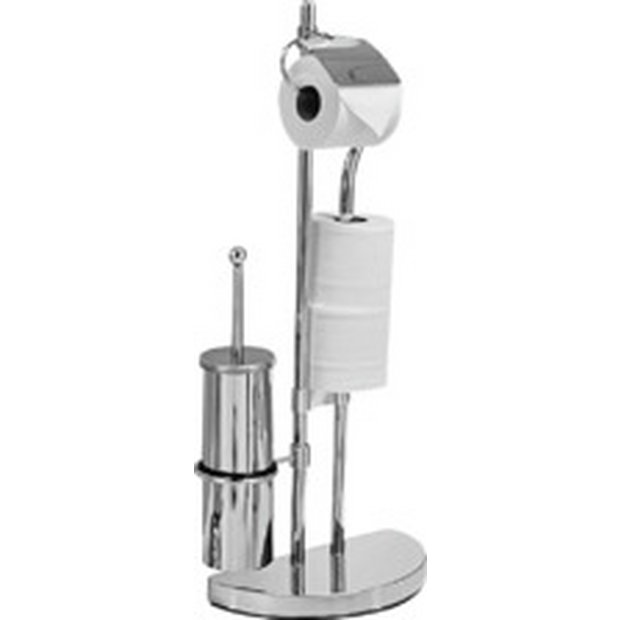 Buy Collection Toilet Brush Amp Toilet Roll Holder Chrome