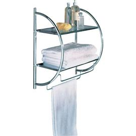 Argos Home Shelf and Towel Rail - Chrome