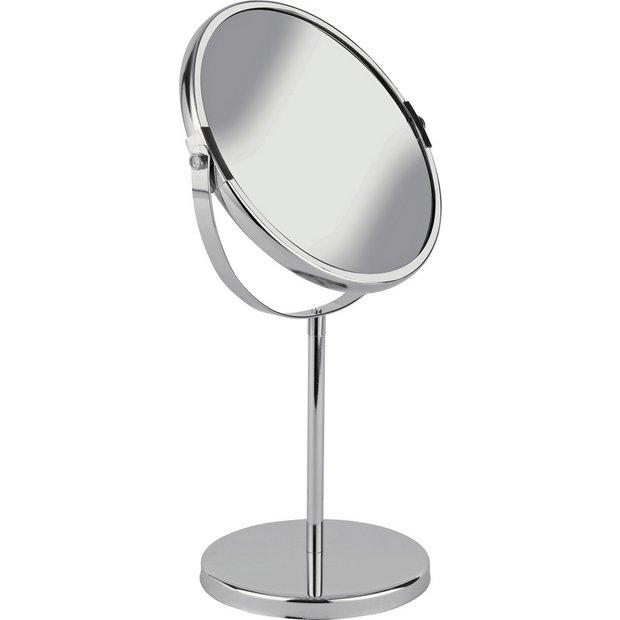 Buy Simple Value Round Chrome Bathroom Mirror At Argos Co