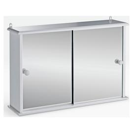 Argos Home Sliding Door Bathroom Cabinet - White