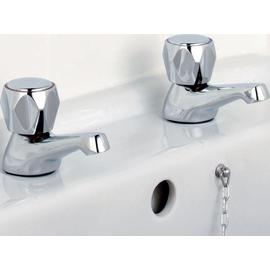 Argos Home Basin Taps - Chrome Plated