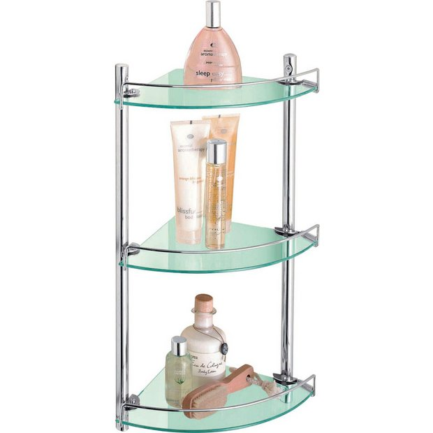 Buy HOME Corner Glass And Wire Rack At Your Online Shop For Bat