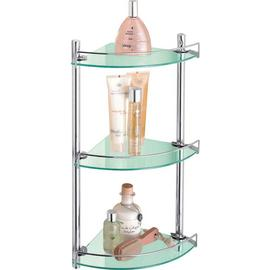 Argos Home Corner Glass and Wire Rack
