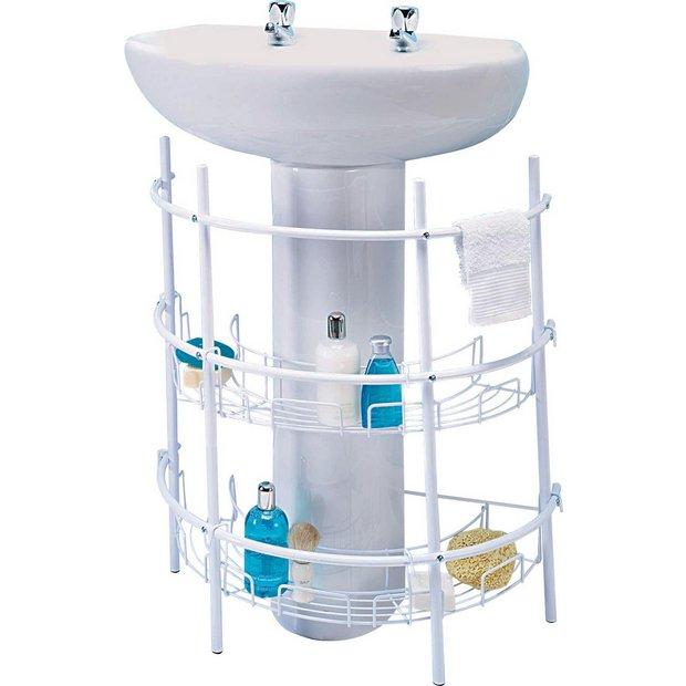 Buy Argos Home Under Sink Storage Unit White Under Sink Storage Argos