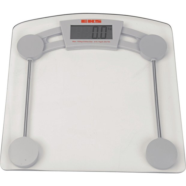Cheap Bathroom Scales Free Delivery: Buy HOME Glass Electronic Scales At Argos.co.uk