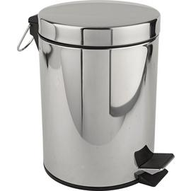 Argos Home 5 Litre Stainless Steel Pedal Bin