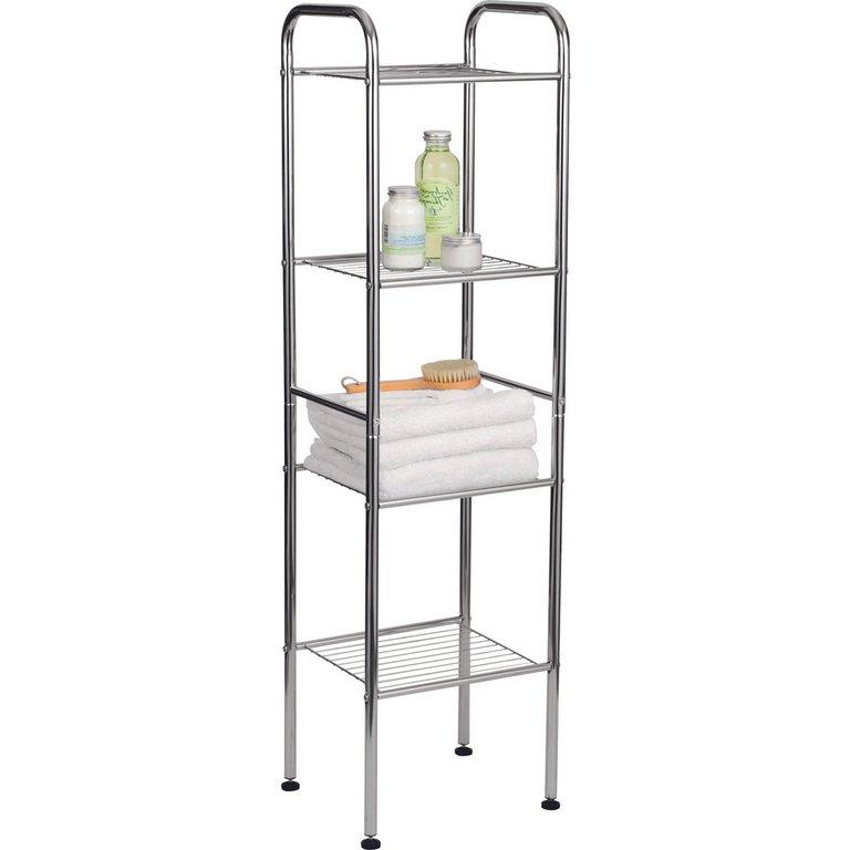 Awesome  Bathroom Cabinet Shelf Cupboard Bedroom Storage Unit Free Standing