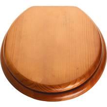 family toilet seat wood. HOME Moulded Wood Toilet Seat  Antique Pine seats Argos