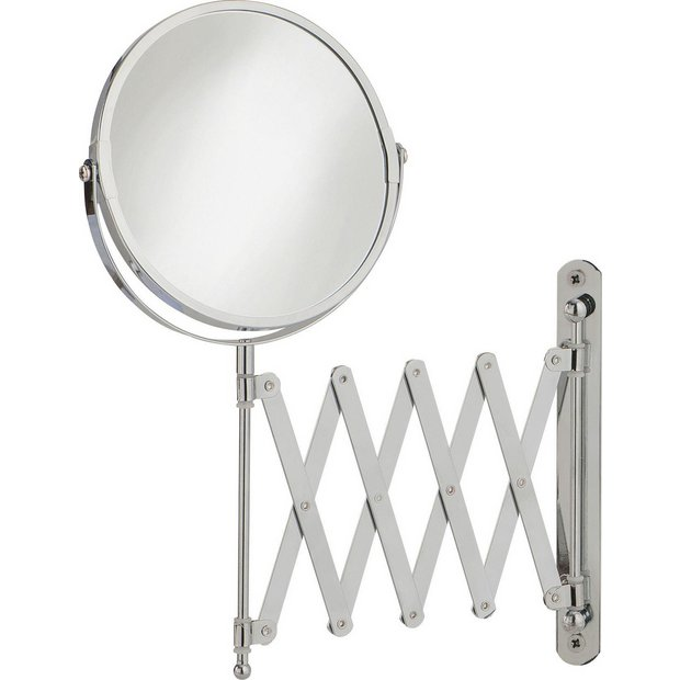 Terrific Buy Bathroom Mirrors Mirrors At Argoscouk  Your Online Shop For  With Lovable  More Details On Home Extendable Round Chrome Shaving Mirror With Divine Little Tikes Play Garden Also What Is At Covent Garden In Addition Gardening Answers Magazine And Cheap Garden Table And Chairs Set As Well As Hilton Garden Inn Central Park South Additionally X Garden Shed From Argoscouk With   Lovable Buy Bathroom Mirrors Mirrors At Argoscouk  Your Online Shop For  With Divine  More Details On Home Extendable Round Chrome Shaving Mirror And Terrific Little Tikes Play Garden Also What Is At Covent Garden In Addition Gardening Answers Magazine From Argoscouk