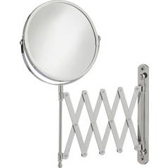 Argos Home Round Extendable Shaving Mirror - Chrome