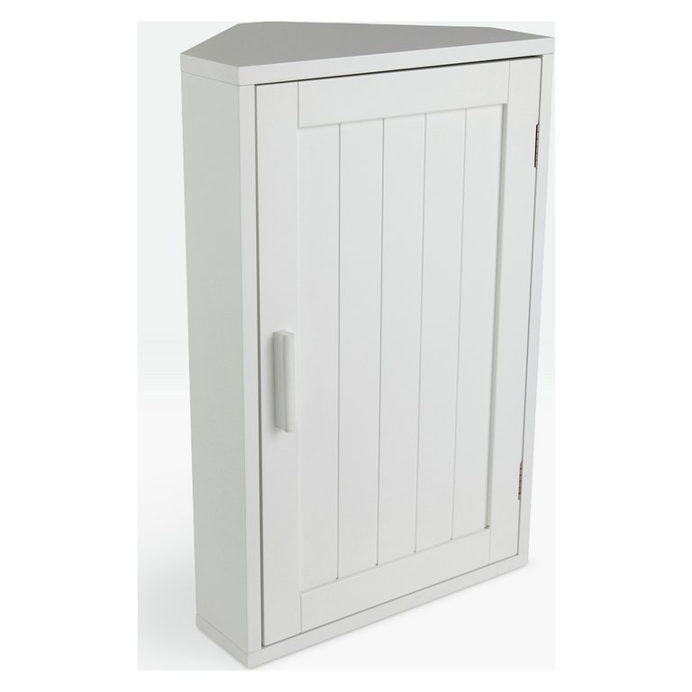 Buy HOME Wooden Corner Bathroom Cabinet