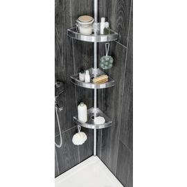 Argos Home Floor to Ceiling Aluminium Shower Organiser Pole