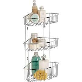 Argos Home 3 Tier Wall Mounted Chrome Shower Caddy