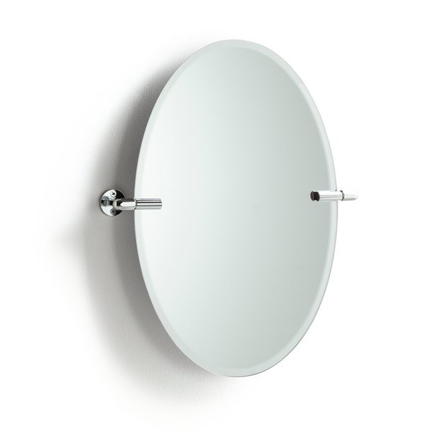 Buy Collection Oval Tilting Bevelled Bathroom Mirror At Argos Co Uk Your Online Shop For